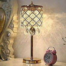 XFSE Lampe de chevet Cristal Européen Chambre