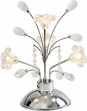 XFSE Lampe de chevet Lampe De Table Cristal Lampe