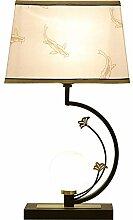 XFSE Lampe de chevet Lampe Forgé Chambre Den