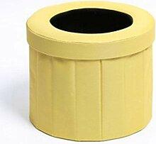 XGZ Toilette portative Tabouret Pliant extérieur
