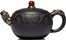 Xiang Ye Pearl ore Bouilloire à thé en forme de