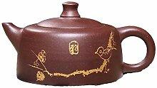 Xiang Ye Théière en argile violette faite à la