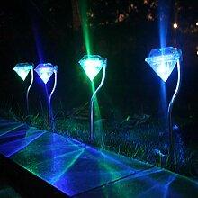 XIANGDONG Solaire Solaire Diamant Lumière LED