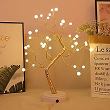 Xiaojie Veilleuse lumineuse en forme d'arbre