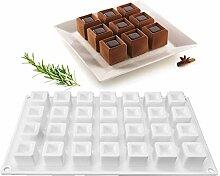 xiaoshenlu Moule à gâteau en Silicone, moules 3D