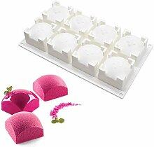 xiaoshenlu Moule Silicone Dessert, Moule en