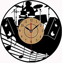 xiaoxong658 Horloge Murale en Vinyle Horloge