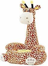 XIHEJD Cartoon Kid Sofa, Girafe for Enfants de