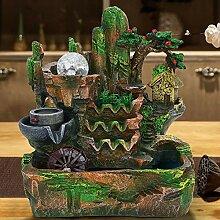 xiji Fontaine de Paysage, décoration de Fontaine