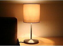 XIKEA INGARED Lot de 2 lampes de table en acier