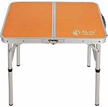 XINGDONG Table Pliante ménage Simple Table à