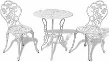 XINGLIEU Table et chaises bistro de jardin 3