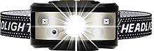 XINGTAO Lampe Frontale 8000LM Puissant Capteur de