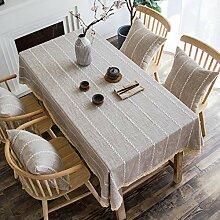 XINGXIAOYU Nappe de Table Transparente Nappe Art