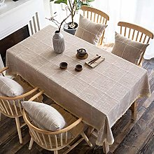 XINGXIAOYU Nappe Rouge Nappe Art Moderne Simple
