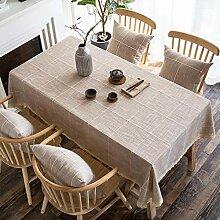 XINGXIAOYU Tissu de Table antitache Nappe Art