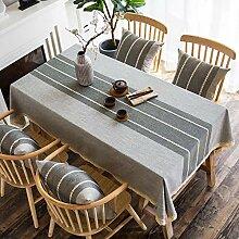 XINGXIAOYU Tissu de Table Blanche Nappe Art