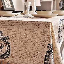 XINGXIAOYU Tissu de Table Blanche Nappe de Table