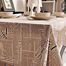 XINGXIAOYU Tissu de Table transparenteépaisse