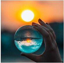 XINSHENG store Blanc transparent cristal lumière