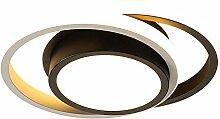 XIULAIQ Moderne LED Anneau Plafonnier Rond Carré