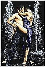 xizhuang Impression sur toile « La fontaine de