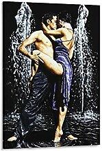 xizhuang Poster décoratif HD La Fontaine de Tango
