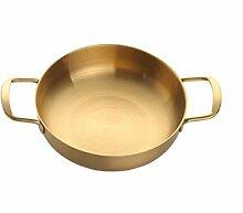 Xjjzs Petite marmite à soupe, antiadhésif Pot,