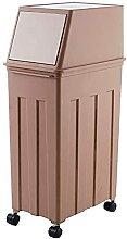 XJYXH Cuisine poubelle poubelle universelle roue