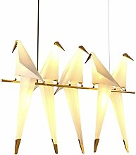 XKUN Gold Bird Cage Pendentif LéGèRe Salon