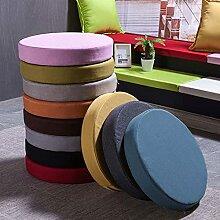 Xpnit Galette de chaise ronde pour jardin, 45 x 45