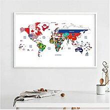 Xuetaozz Carte du Monde jointe avec des Pays