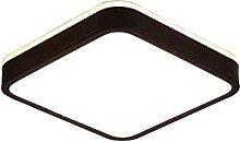 Xungzl Forme carrée Simple avec Finition Noire
