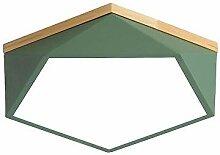 Xungzl Forme de Diamant irrégulière Verte, LED