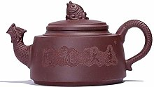 XUSHEN-HU Théière en métal Old Purple Argile