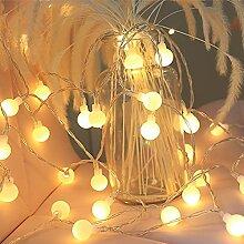 Xushiwanju Guirlande lumineuse pour sapin de Noël