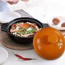 XUYONGZ Braiser Avec Céramique, Marmite à Soupe