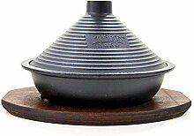 XUYONGZ Tajine Marmite marocaine en fonte avec