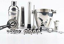 XWOZYDR 16pcs Set 750ml Cocktail Shaker Shaker