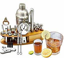 XWOZYDR Cocktail Shaker Bar Set Kit De Fabrication
