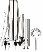 XWOZYDR Cocktail Shaker Bar Tool Set 15 PCS Kit de