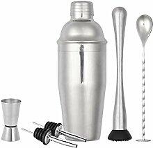 XWOZYDR Cocktail Shaker Set 6 pièces Kit de