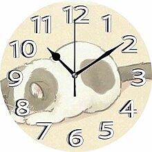 XXSCXXSC Horloge Murale Horloge silencieuse de