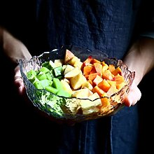 xxw Bol à Salade créatif Japonais Marteau Maille