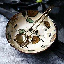 xxw Bol en céramique créative de Style Japonais