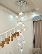 xxw Bougeoir d'escalier minimaliste moderne,