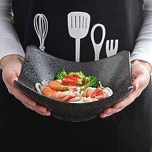 xxw Grand Bol créatif Japonais Vaisselle Bol en