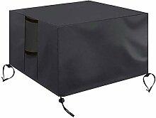 XXYANZI Bache Table de Jardin 200x160x70cm,