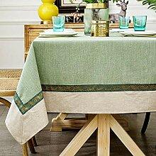 XY&XH Nappe de Table imperméable à l'eau,