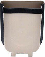 XYDZ Poubelle Pliable Suspendue, 9L Portable